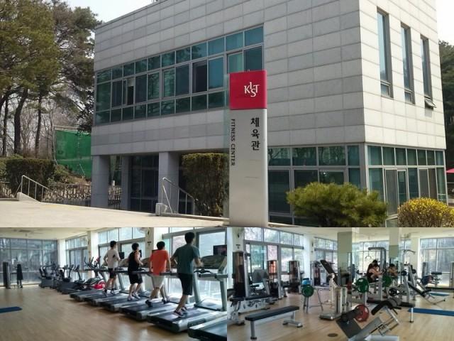 Pusat kebugaran (fitness center)