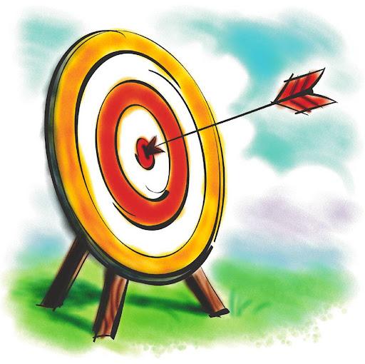 Hidup kita seharusnya seperti anak panah yang tepat menuju sasaran.