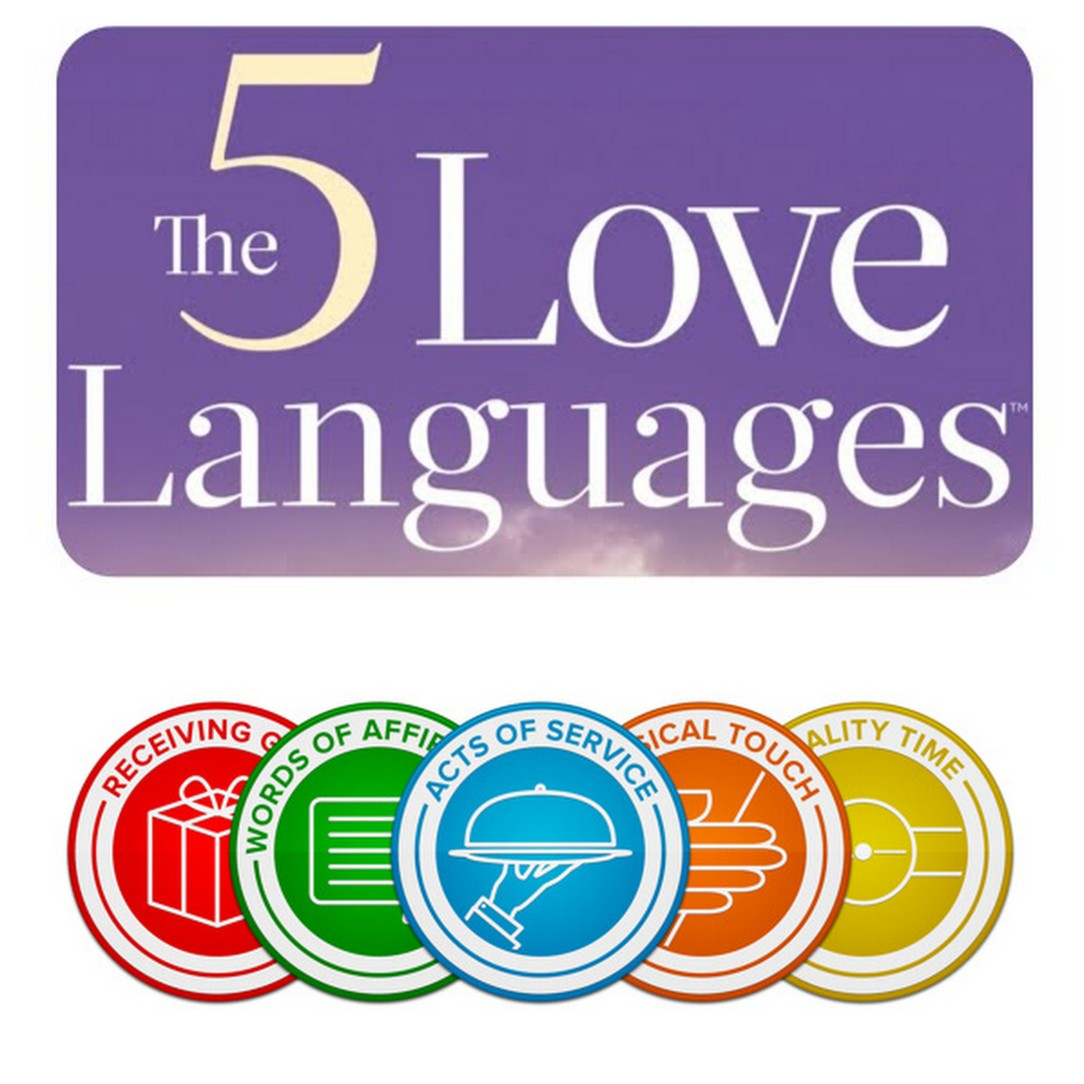 The 5 Love Languages, by Dr. Gary Chapman.