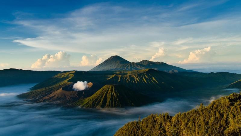 Gunung Bromo, Jawa Timur.