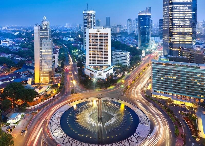 Bundaran Hotel Indonesia, Jakarta.