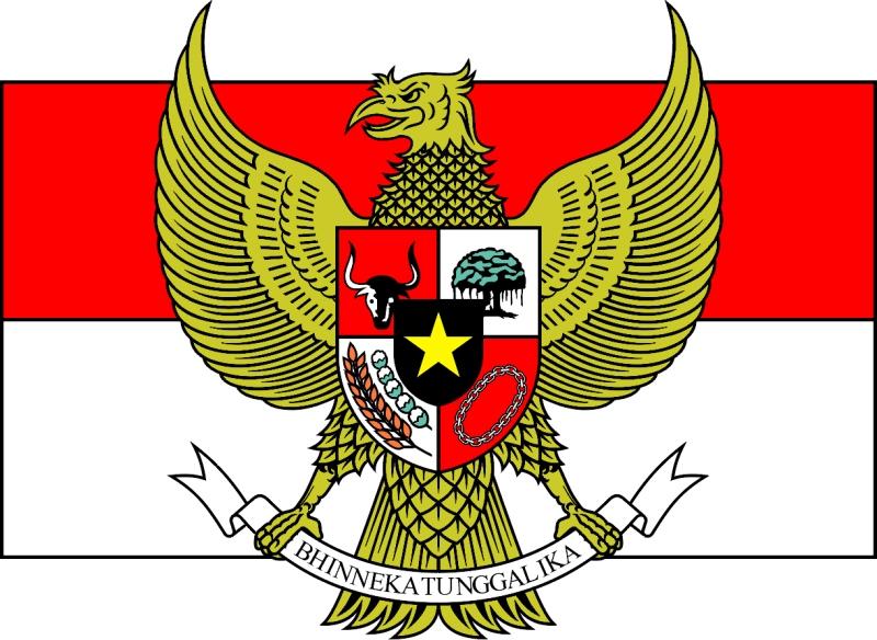 Garuda Pancasila NKRI. Sumber: www.bin.go.id