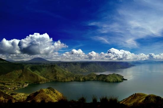 Danau Toba, Pulau Samosir, Sumatera Utara.