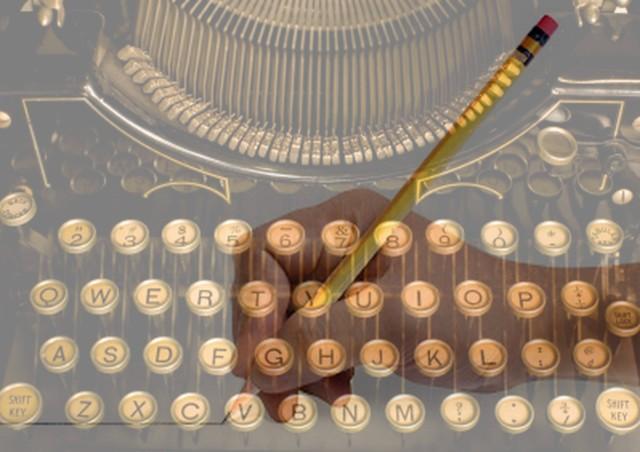 old type-writing