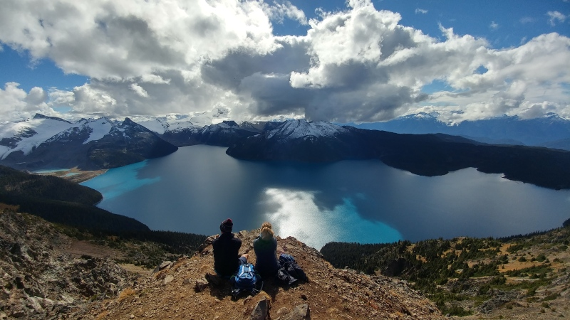 Finally, this is it! Panorama Ridge. One of the most stunning view I have ever seen.