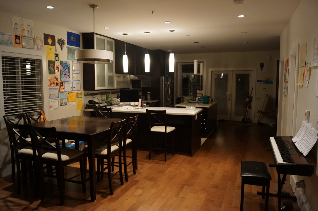 My first home in Vancouver, I live with a nice family and helpful persons