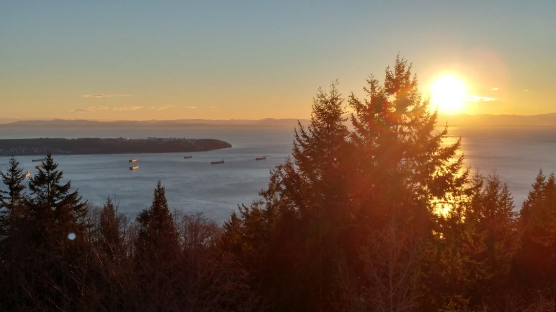 Sunset in Barrett's View.