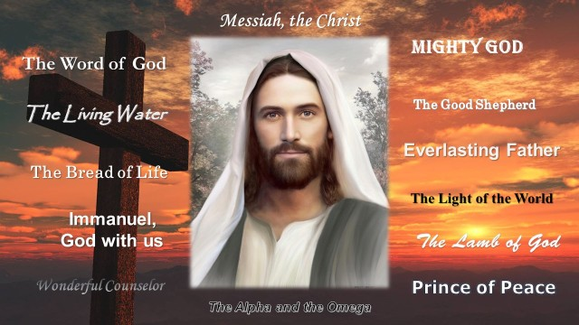 The Attributes of Jesus (R)
