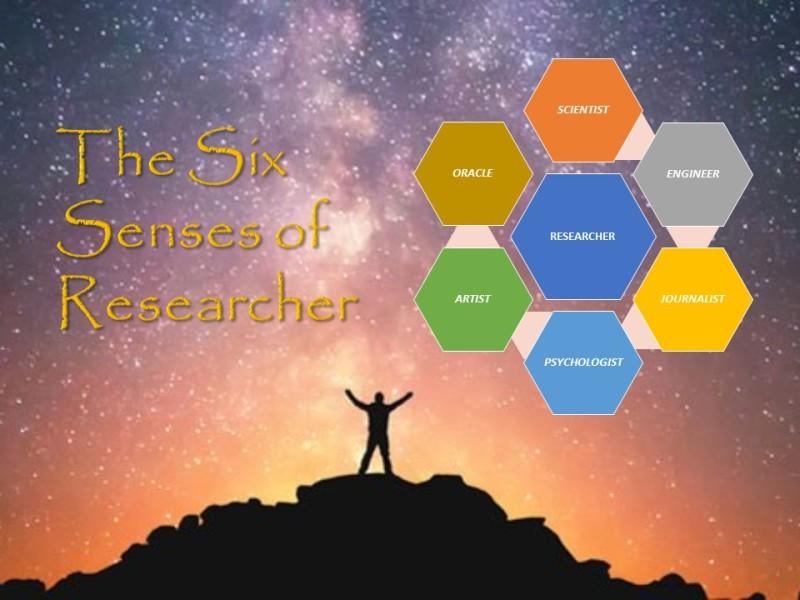 The Six Senses of Researcher