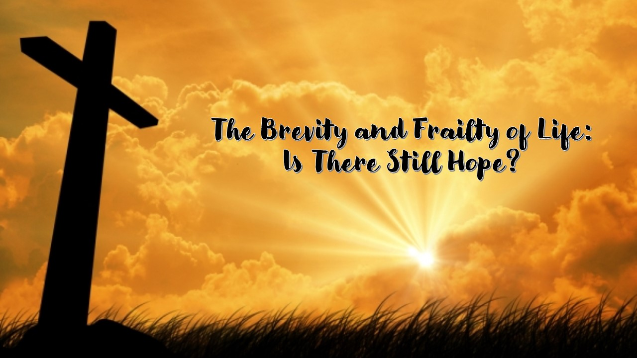The Brevity and Frailty of Life
